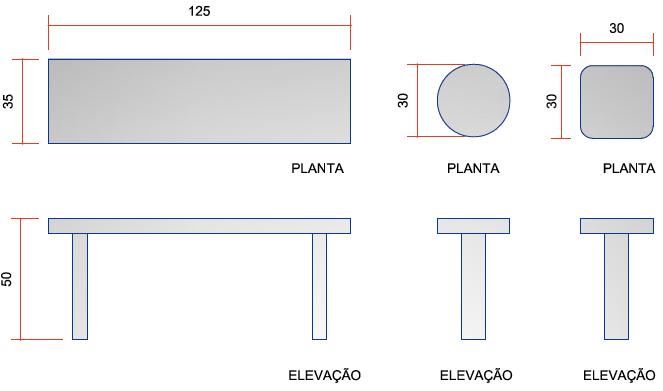 banco de jardim concreto: Banco de Concreto para Jardim em Curitiba e Região Metropolitana